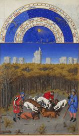 Les Tres Riches Heures December