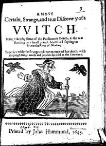 A most strange witch pamphlet: A Most Certain, Strange
